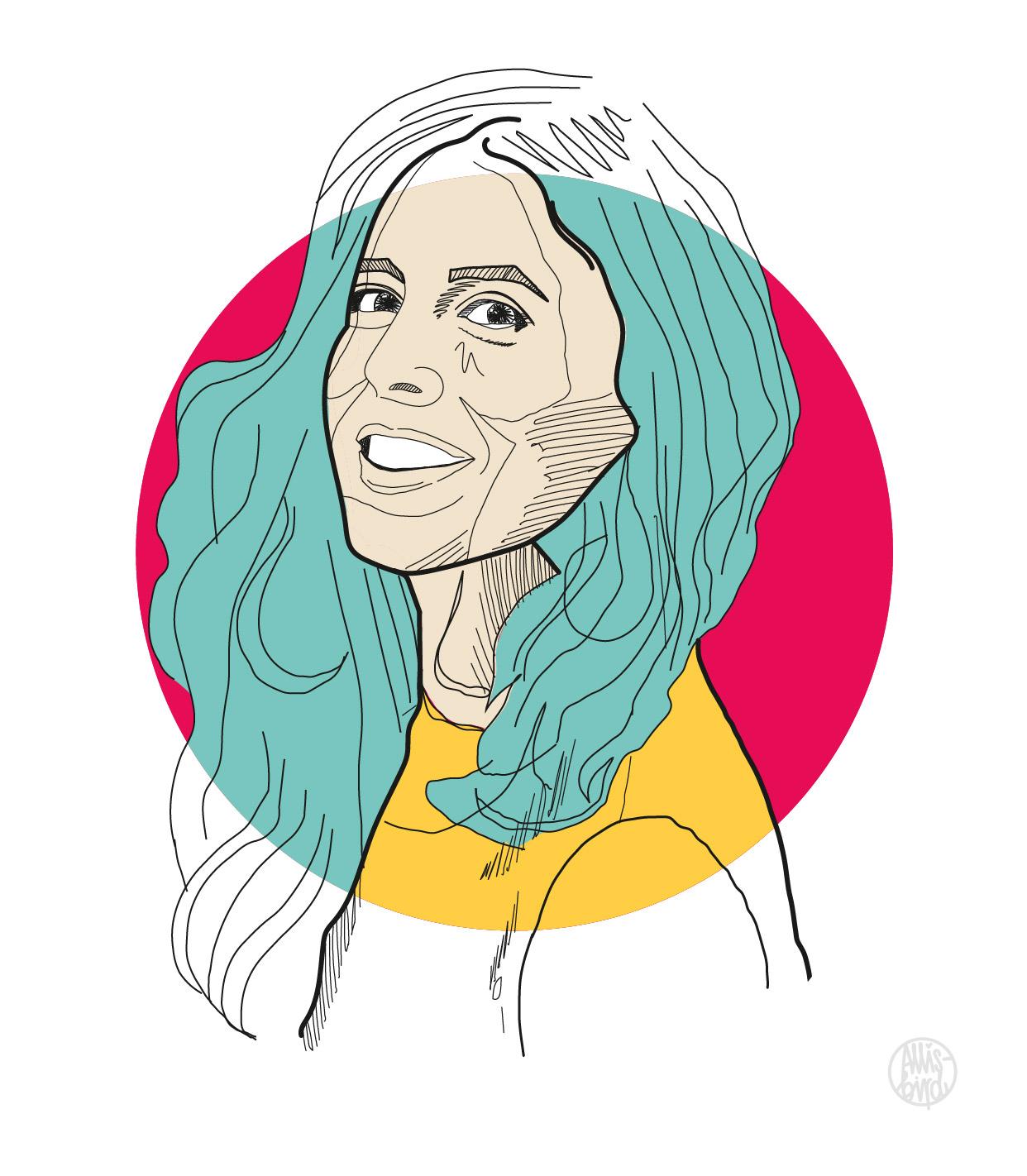 portrait-illustration-grafikdesign-Alexandra