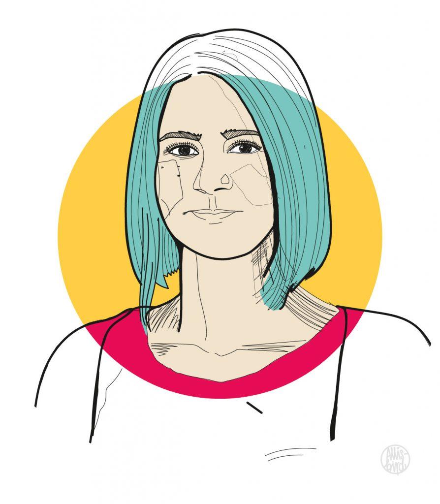 portrait-illustration-grafikdesign-sabrina
