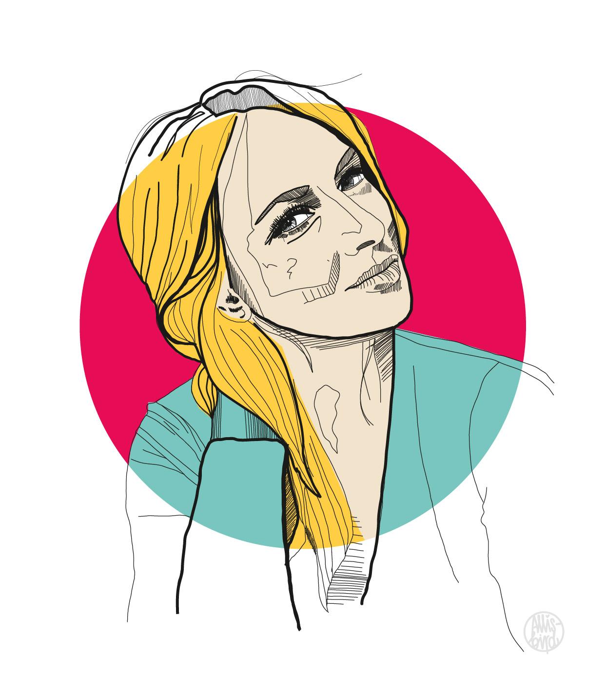 portrait-illustration-grafikdesign-susi-braun-heysister