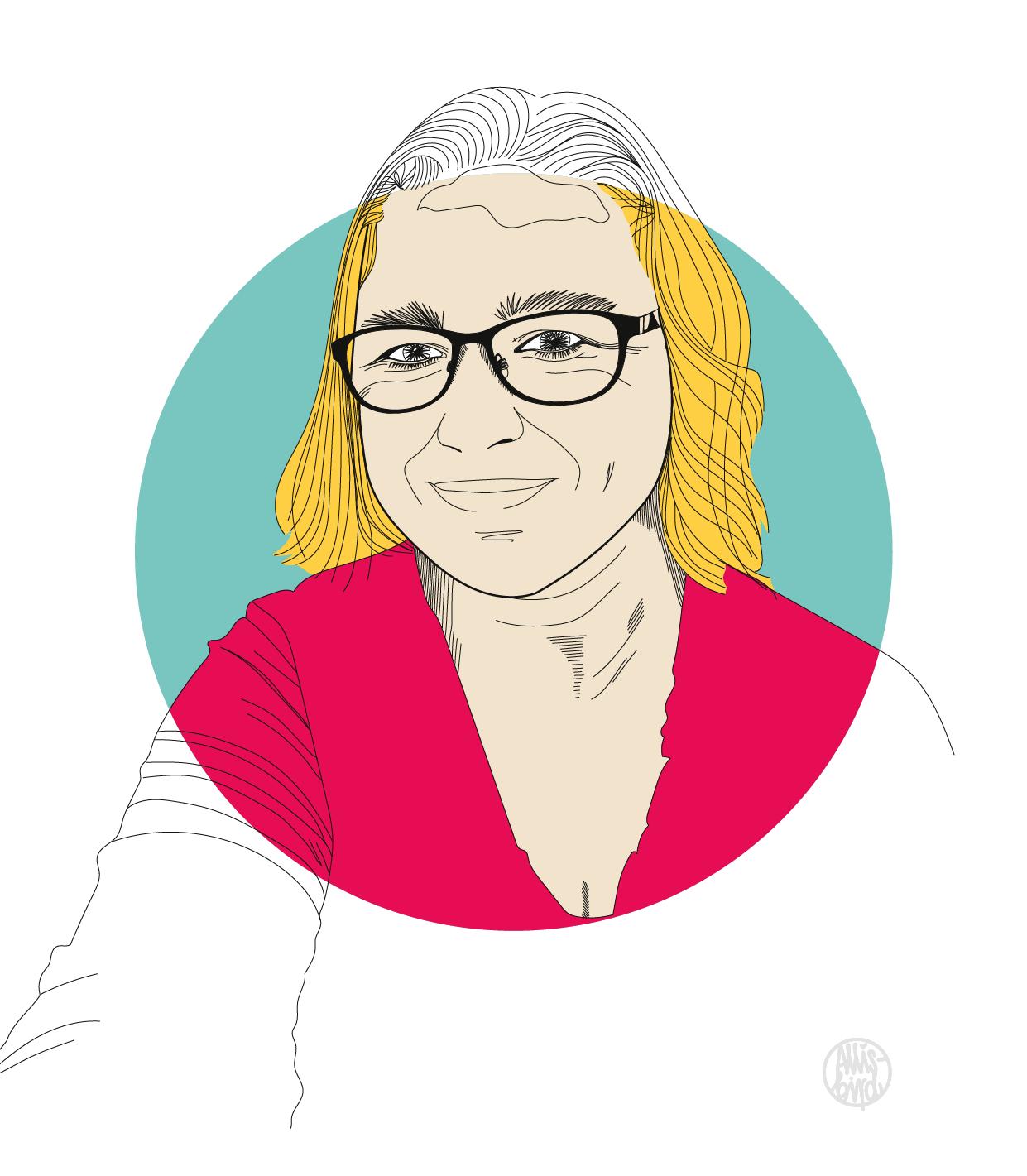 portrait-illustration-grafikdesign-katja