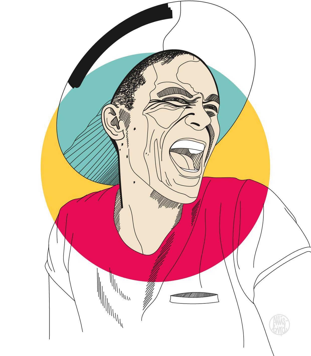Portrait Illustration Grafikdesign Adam Roa