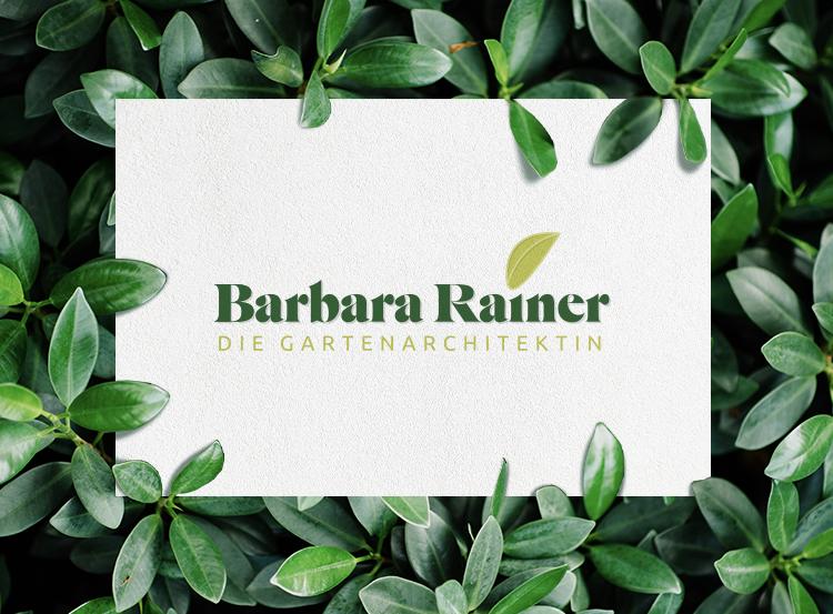 Sabrina Blumenthal Grafikdesign Logodesign Barbara Rainer Gartenarchitektin Vorschau