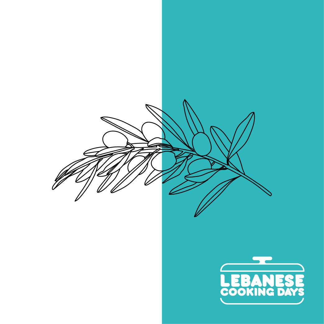 Logo Design Corporate Design Lebanese Cooking Days Vorschau