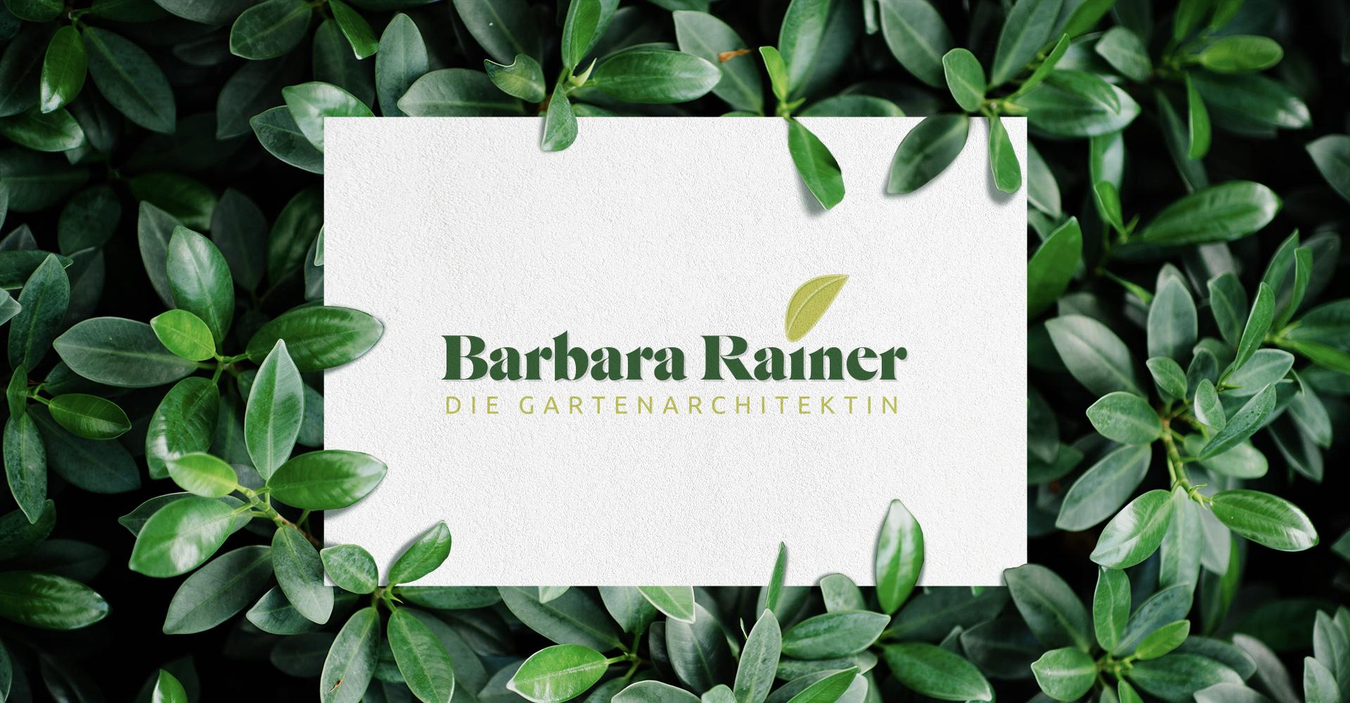 Corporate Design Logo Design Barbara Rainer Titelbild Header